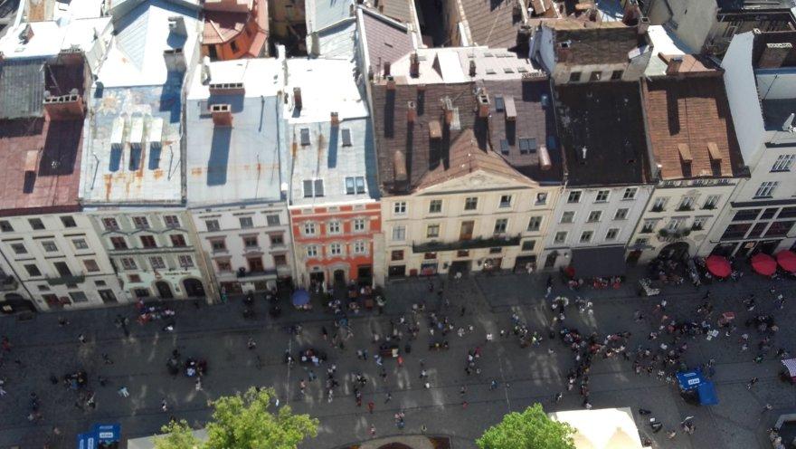 Asmeninė nuotr./Miestas nuo Rotušės bokšto