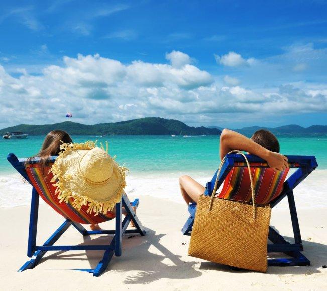 Shutterstock nuotr./Povestuvinę kelionę pora paprastai planuoja ten, kur šilta