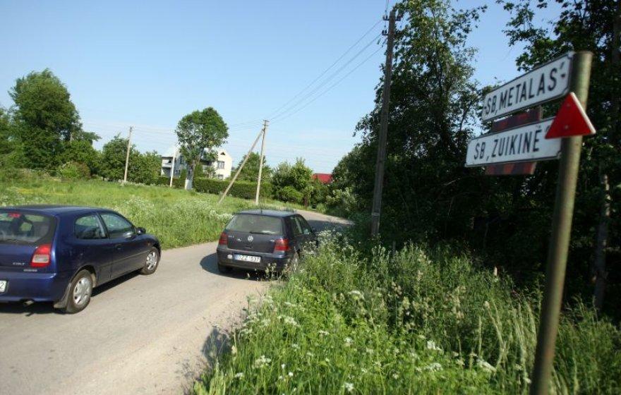 Sodininkai skatinami įteisinti kelius.
