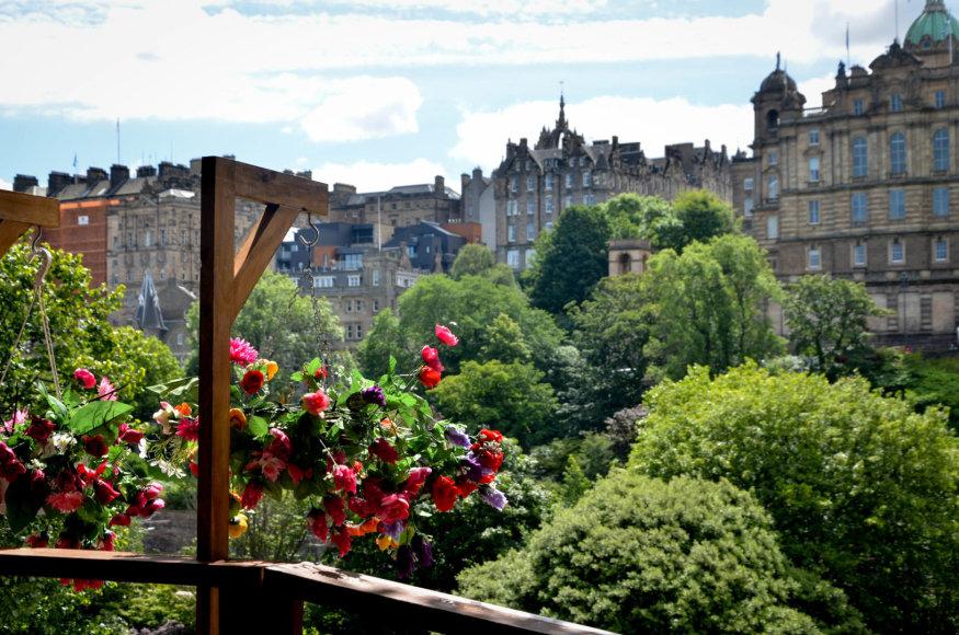 Beatričės Bankauskaitės nuotr./Žydintys Edinburgo sodai