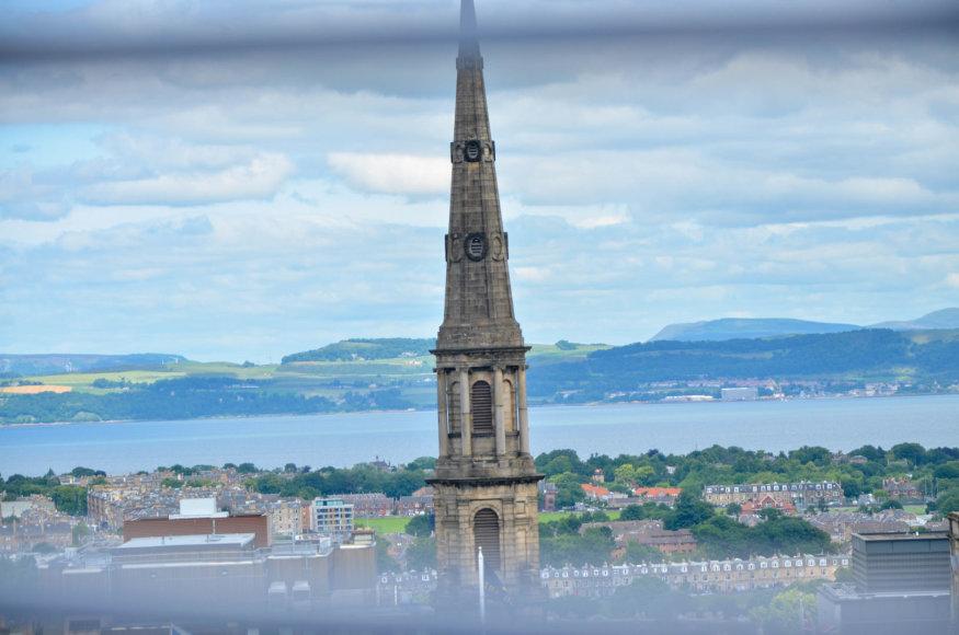 Beatričės Bankauskaitės nuotr./Vaizdas į Edinburgą
