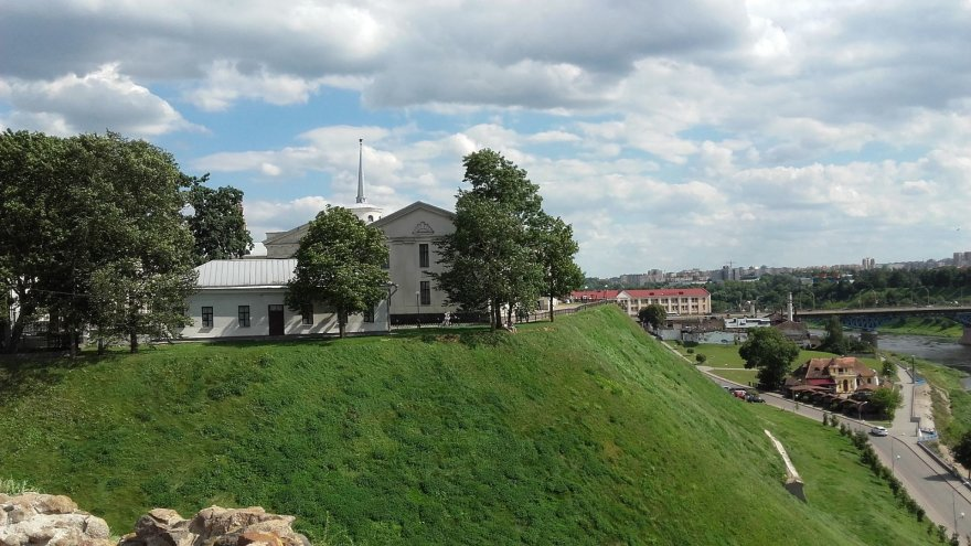 Asmeninė nuotr./Gardino naujoji pilis