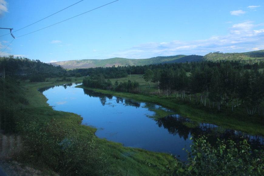 Tado ir Manto Grimalių nuotr./Kelionė traukiniu per Rusiją