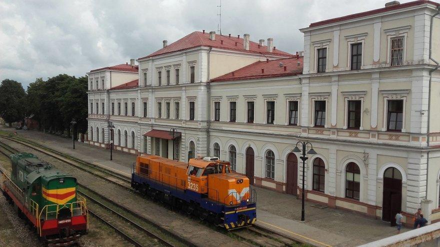Vaido Mikaičio nuotr./Liepojos traukinių stotis