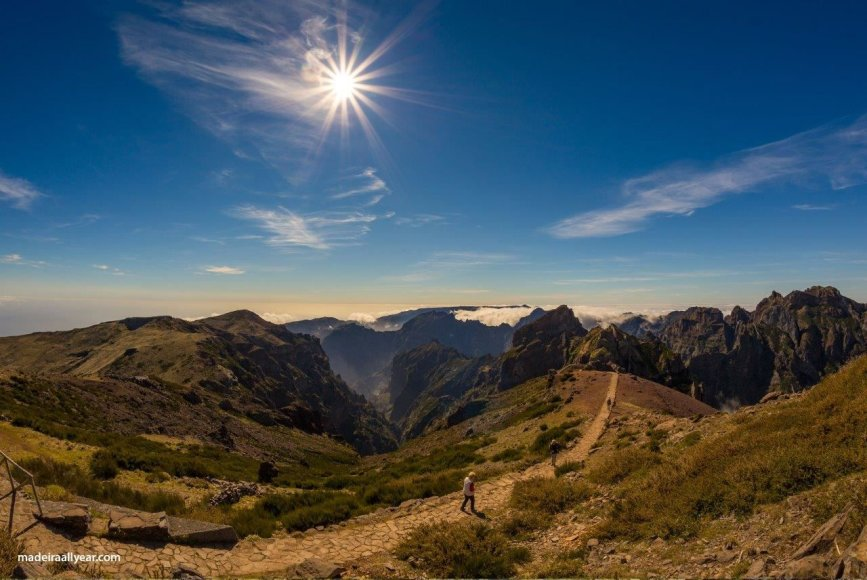Shutterstock nuotr./1862 m aukščio Piko Ruivo kalnas