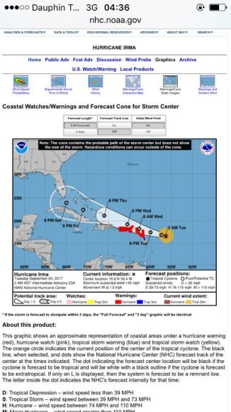 Uraganas Irma artėja prie Karibų