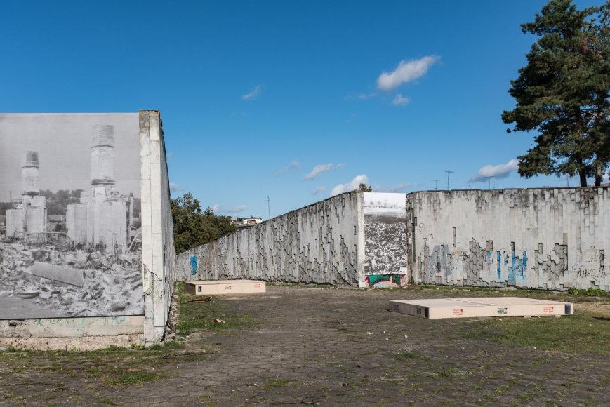 Remio Ščerbausko nuotr./Sąjungos a., Vilijampolėje, menininkai Horstas Hoheiselis ir Andreasas Knitzas įkurdino netradicinį paminklą, skirtą žydų sunaikinimo atminimui