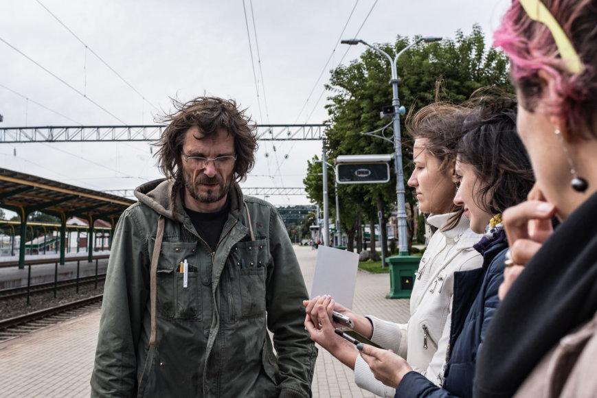 Remio Ščerbausko nuotr./Kostas Bogdanas – vienas iš 2017 m. Kauno bienalės dalyvių