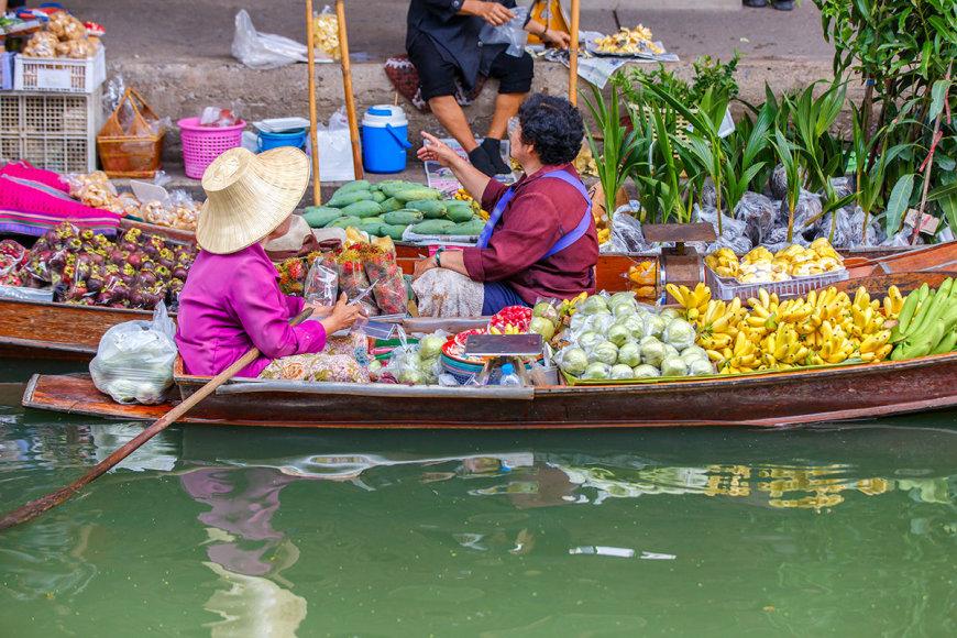 Shutterstock nuotr./Plaukiojantis turgus