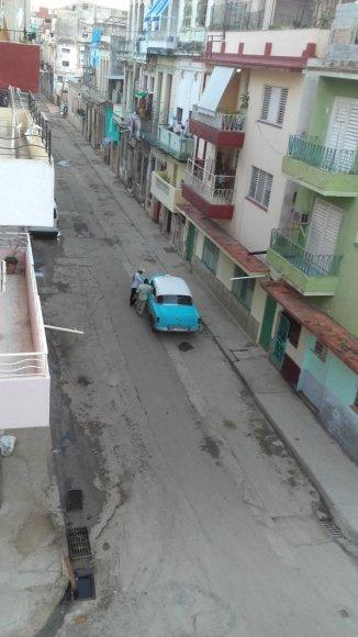 Asmeninė nuotr./Labai ankstyvas rytas centrinėje Havanoje
