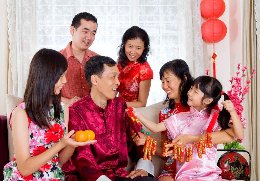 123rf.com /Kinų šeima