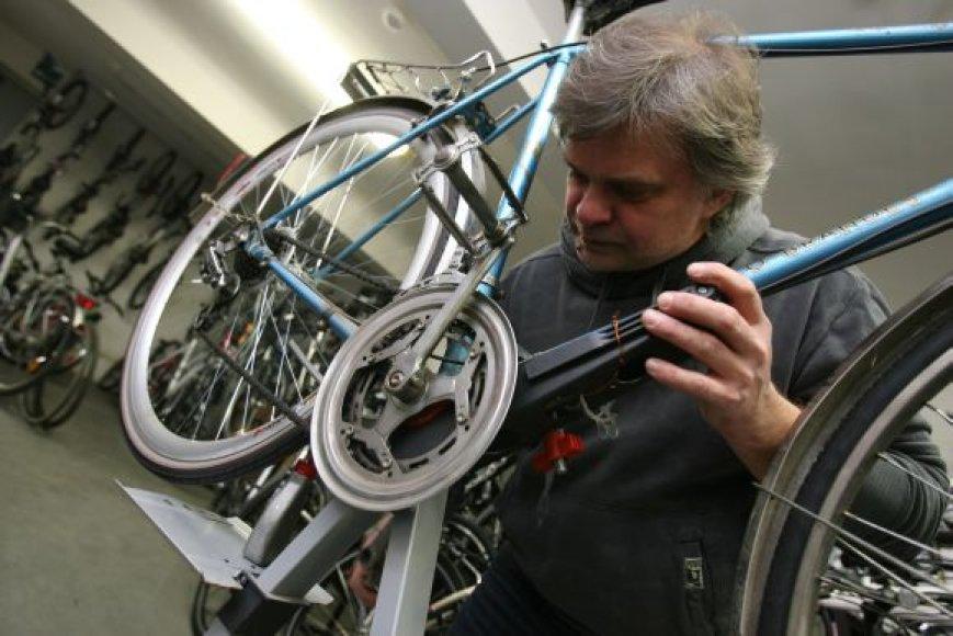 Paruošti dviratį beprasidedančiam sezonui bus galima šį šeštadienį Sereikiškių parke.