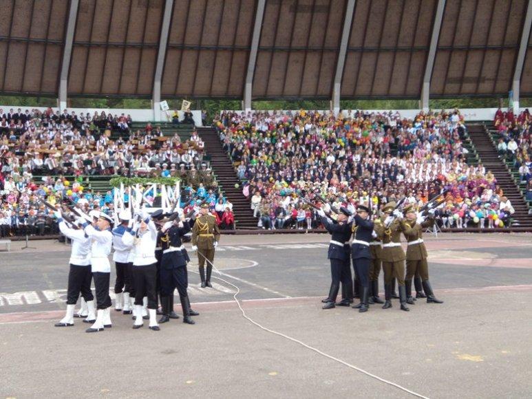 Lietuvos karinių pajėgų pasirodymas