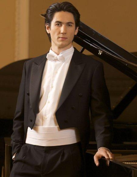 Vienas iš koncerto atlikėjų – pianistas K.Uinskas