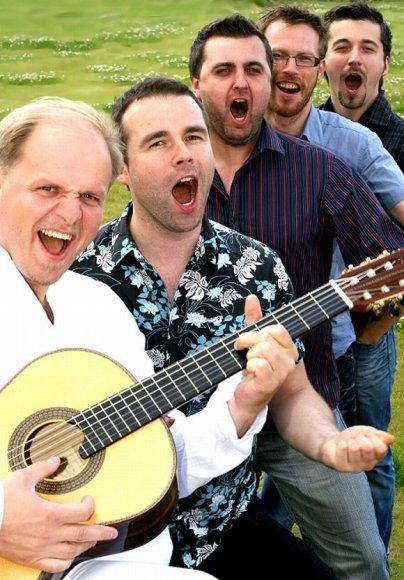 Koncertų salėje vyriškiai dainuos itališkas dainas.