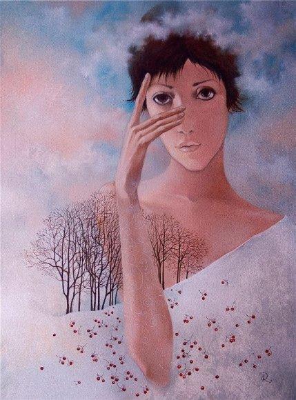 Dailininkų darbuose nutūpė patys įvairiausi angelai.