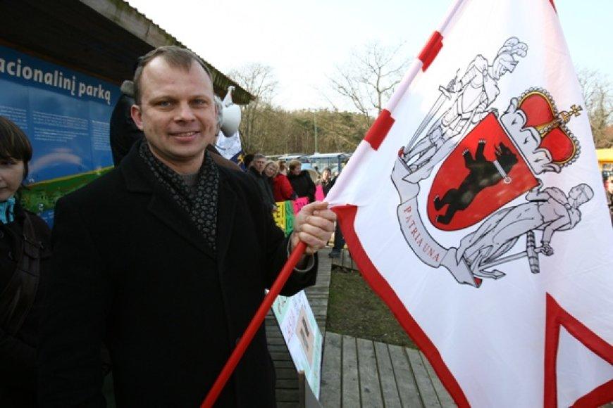 Kelerius metus dėl žemaičio tautybės besibylinėjantis E.Skarbalius artimiausiu metu žada kreiptis į Lietuvos Aukščiausiąjį teismą.