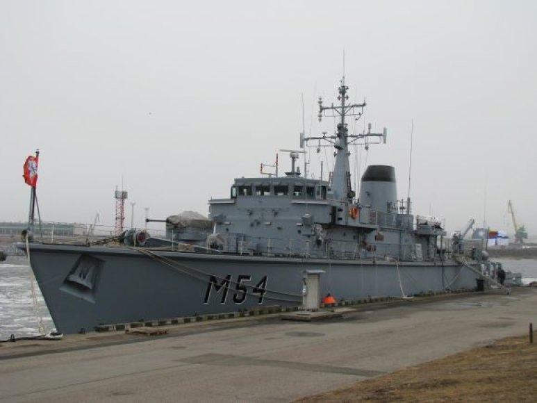 """""""Hunt"""" klasės minų paieškos ir nukenksminimo laivas M54"""