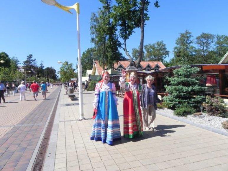 Slavai yra vieni pagrindinių Palangos verslininkų maitintojų.