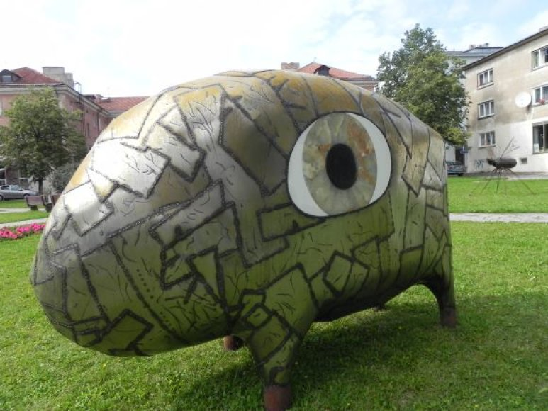 Klaipėdos senamiestyje įsikūrė šešios skulptūros.