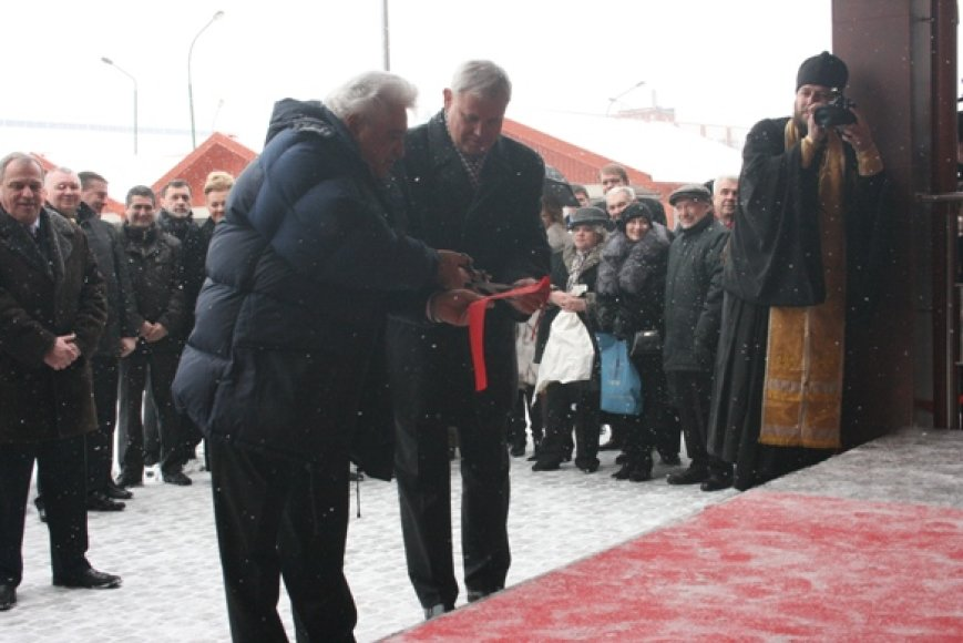 Klaipėdoje oficialiai atvertas Rusijos Federacijos generalinis konsulatas.