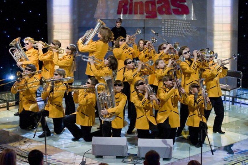 """2009 metų rudenį, """"Jovariečiai"""" klausytojus džiugino populiariojoje televizijos laidoje """"Talentų ringas""""."""