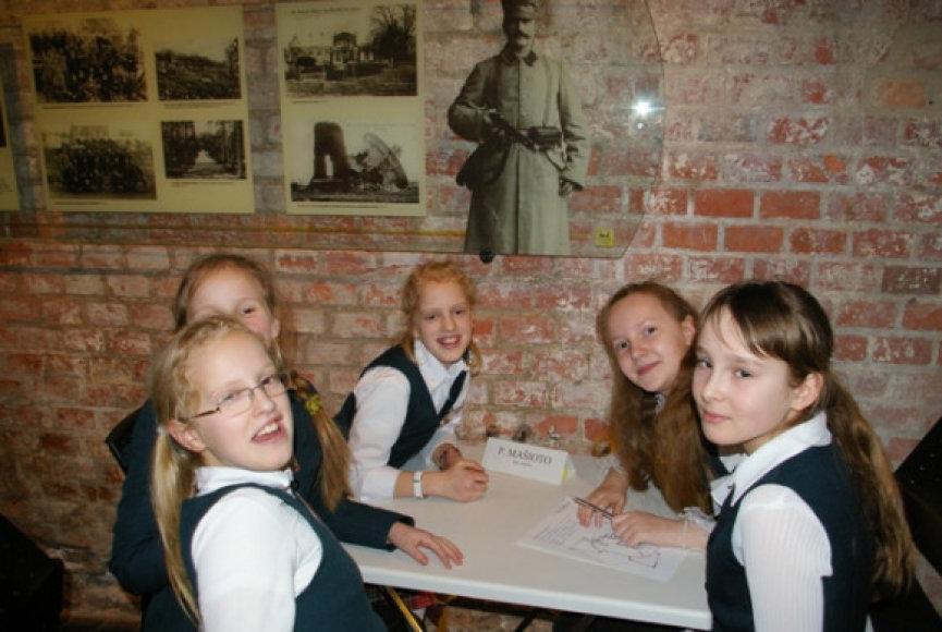 Istorijos konkursas muziejuje rengiamas jau aštuntus metus.