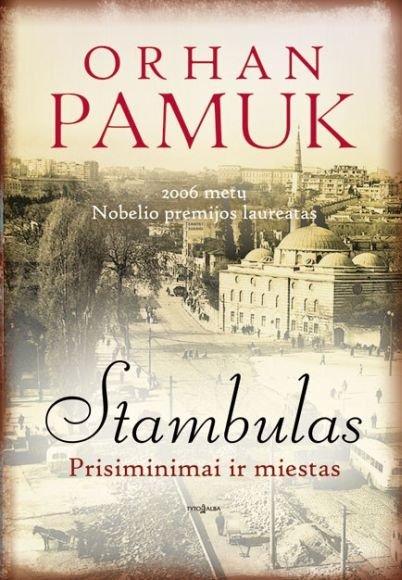 Bibliotekoje bus aptariama O.Pamuko knyga, pelniusi autoriui Nobelio premiją.