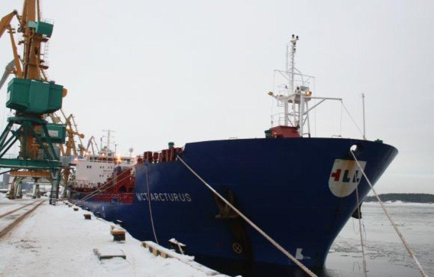 Ketvirtadienį Klasco pasiekė 10 mln. tonų krovos ribą