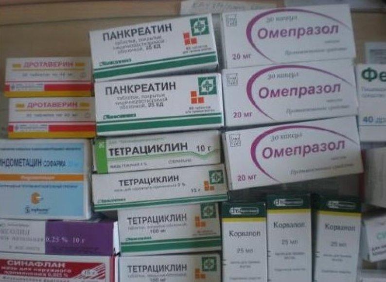 Kretingos turgavietėje prekiauta rusiškais vaistais.