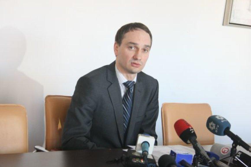 M.Balčiūno teigimu, paskirtoji bausmė krepšininkams - pakankamai švelni.