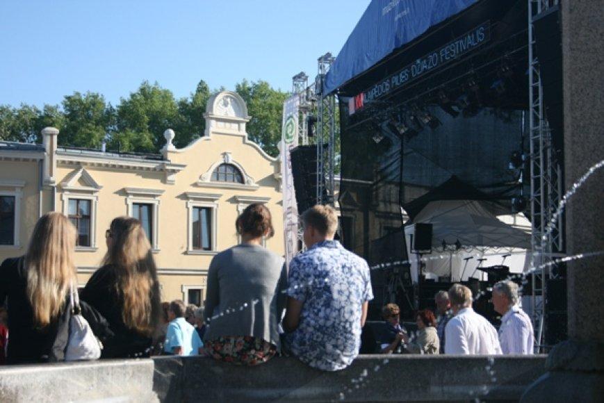 Klaipėdos Pilies džiazo festivalis šiemet jau - septynioliktas.