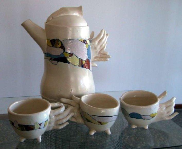 Irenos Šliužienės keramikos dirbinys.