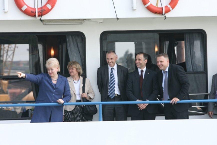 D.Grybauskaitė žino, kur turėtų būti statomas suskystintų dujų terminalas.