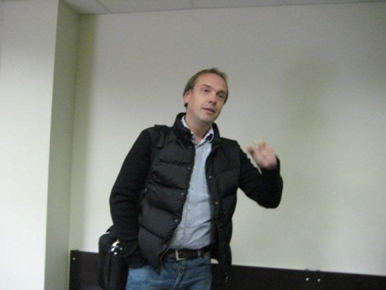 Ernestas Butrimas penktadienį turėjo aiškintis dėl vairavimo išgėrus Klaipėdos miesto apylinkės teisme.