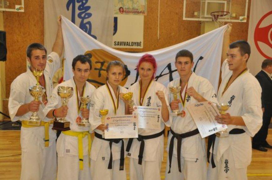 Klaipėdos karatistai iškovojo teisę atstovauti Europos kyokushin čempionate.