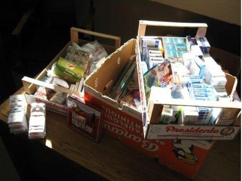 Turgavietėje nelegaliai prekiauta įvairiais medikamentais.