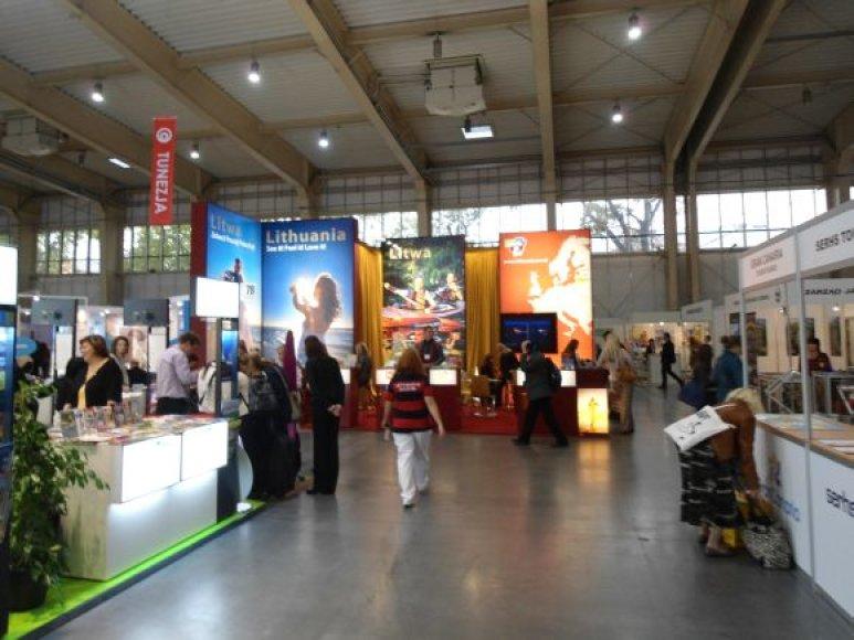 Palanga ekspozicijoje Lenkijoje bandė prisikviesti turistus iš kaimyninės šalies.