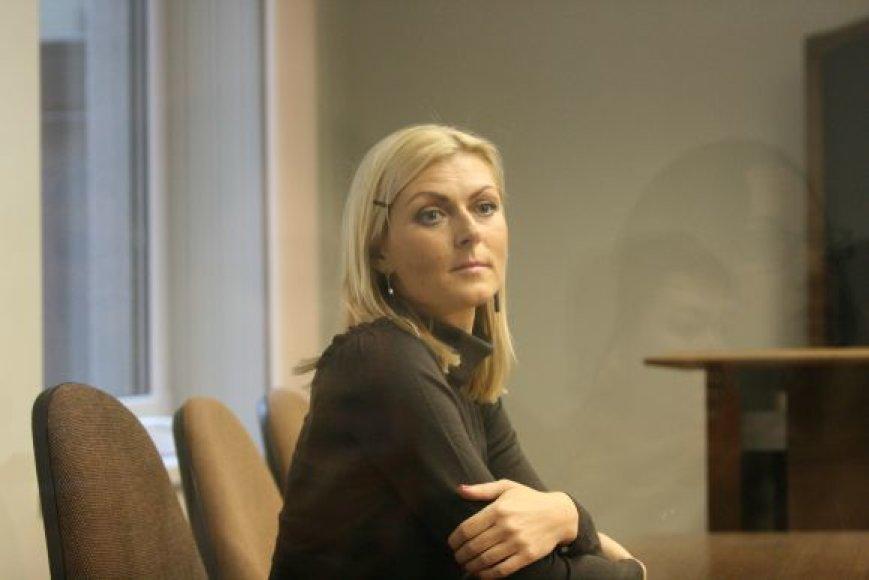 Eglė Jackaitė teisme laukia nuosprendžio