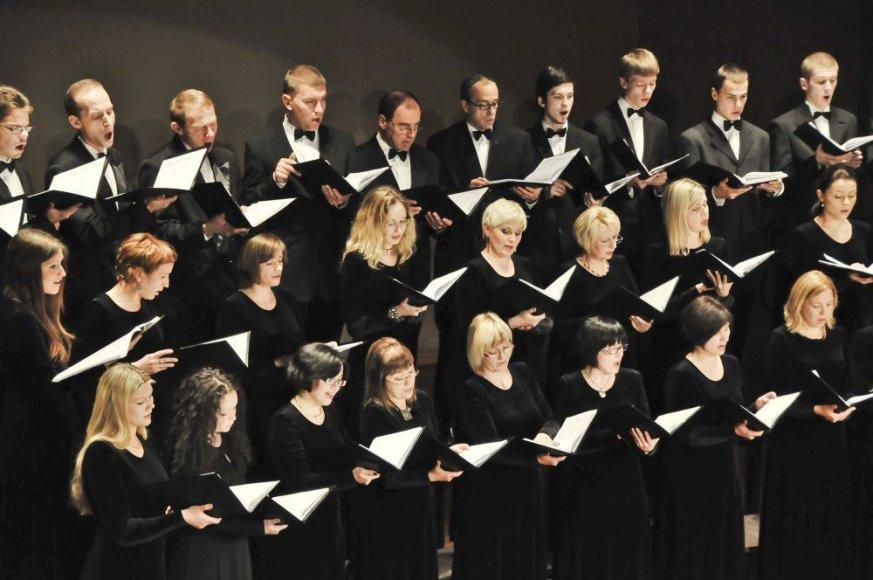"""Choras """"Aukuras"""" Kalėdų antrąją dieną koncertuos naujoje koplyčioje."""