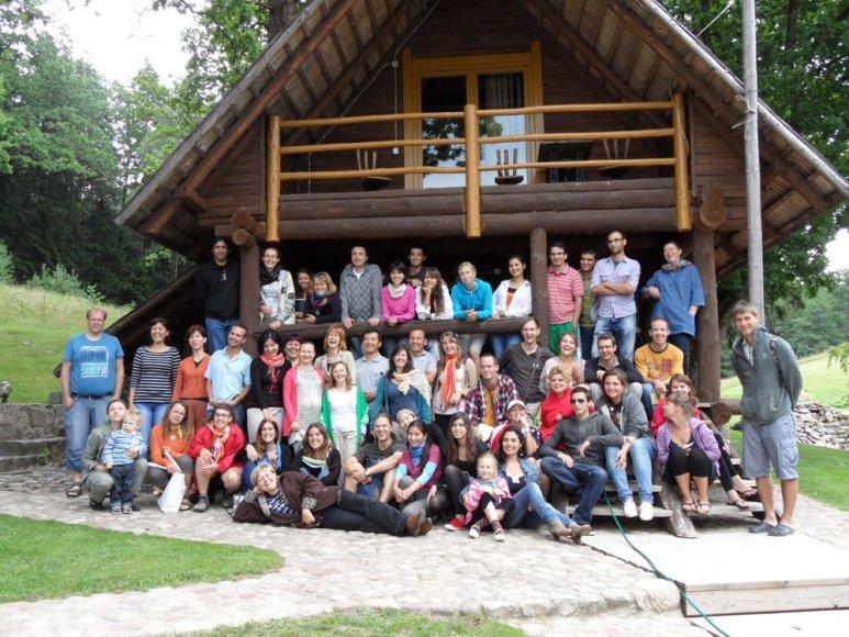 Klaipėdos universitete būrys užsieniečių mokosi lietuvių kalbos.
