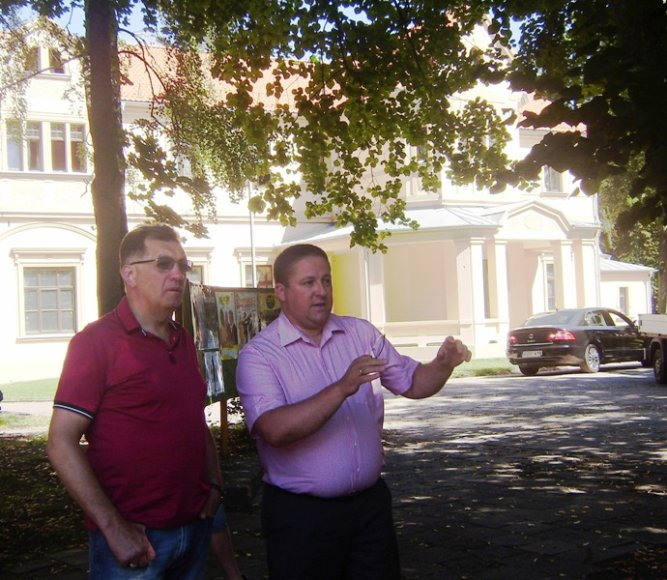 Algirdas Butkevičius per atostogas skyrė dėmesio ir Palangos infrastruktūrai.