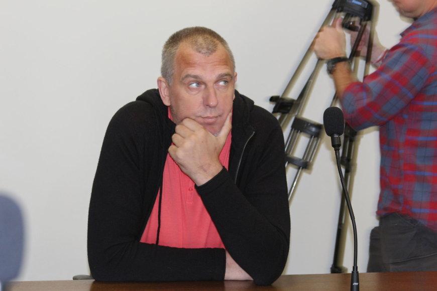 A.Jašinskienės/15min.lt  nuotr./Gintaras Einikis Klaipėdos miesto apylinkės teisme
