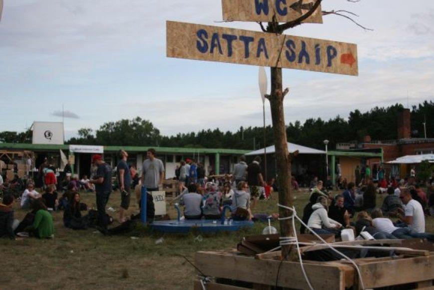 Festivalis Smiltynės jachtklube vyksta antrą kartą.