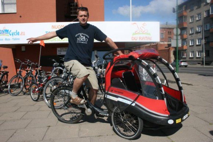 S.Ružinsko vadovaujama įstaiga šią vasarą neteko trijų dviračių.