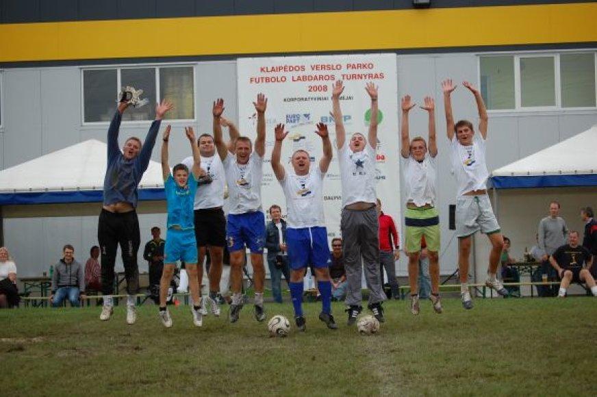 Labdaringas futbolo turnyras vyksta jau penkerius metus.