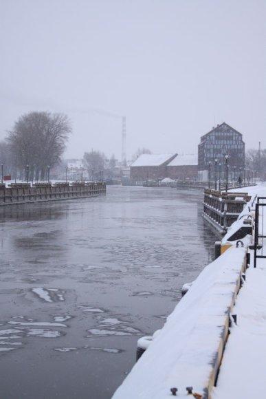 Danės upė.