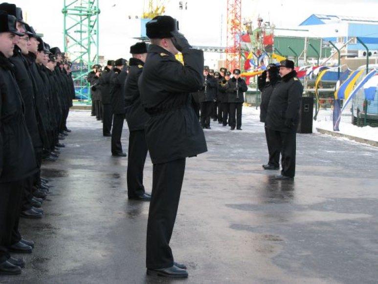 Šventinė vadų apsikeitimo ceremonija.