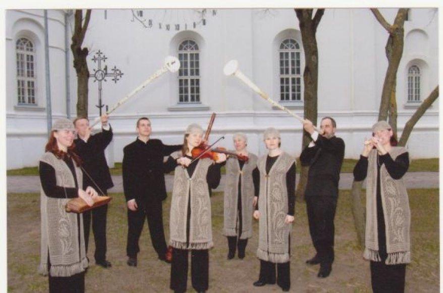Gavėnios popietėje dalyvaus Šv.Cecilijos religinės sakralinės muzikos ansamblis.