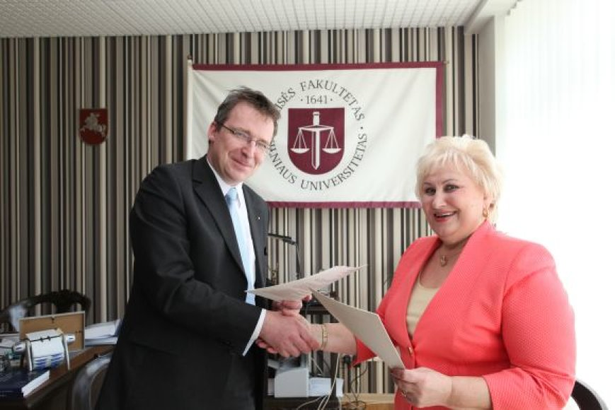 VU Teisės fakulteto dekanas prof. habil. dr. Vytautas Nekrošius.